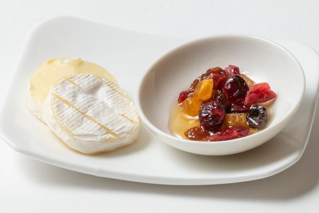 ブリーチーズとドライフルーツ