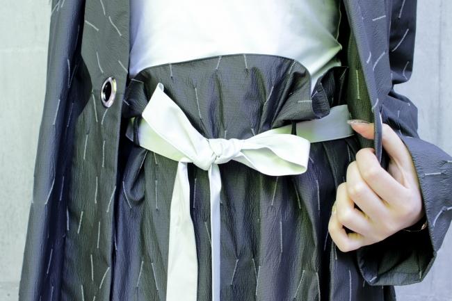 リボンベルト スカート ¥13,000(税込)