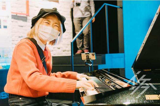 ハラミちゃんとFacet Grand Piano