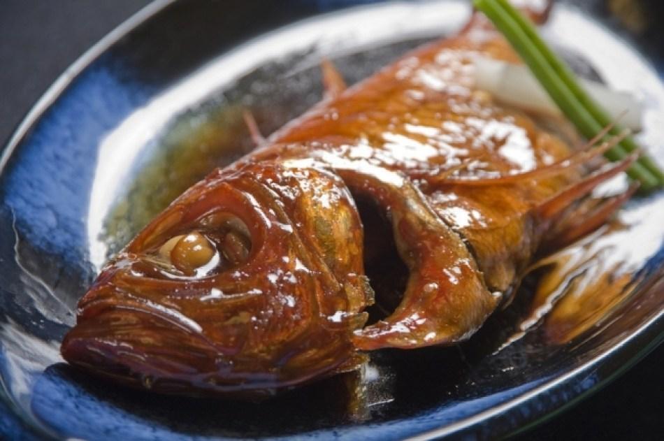 【1位:稲取温泉】キンメの食事(伊豆稲取温泉 食べるお宿 浜の湯)