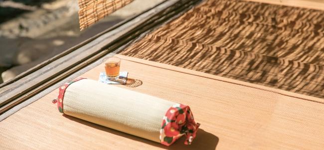 夏の季語である「い草」の枕 ¥3,200+税