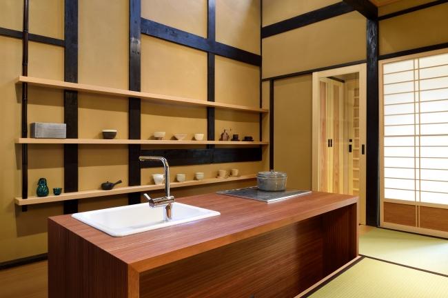 『京の温所 御幸町夷川』キッチン