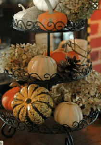 pumpkin fruit basket