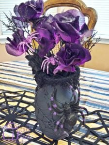 halloween-dollar-store-spiderweb-vase