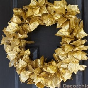 wreath-gold