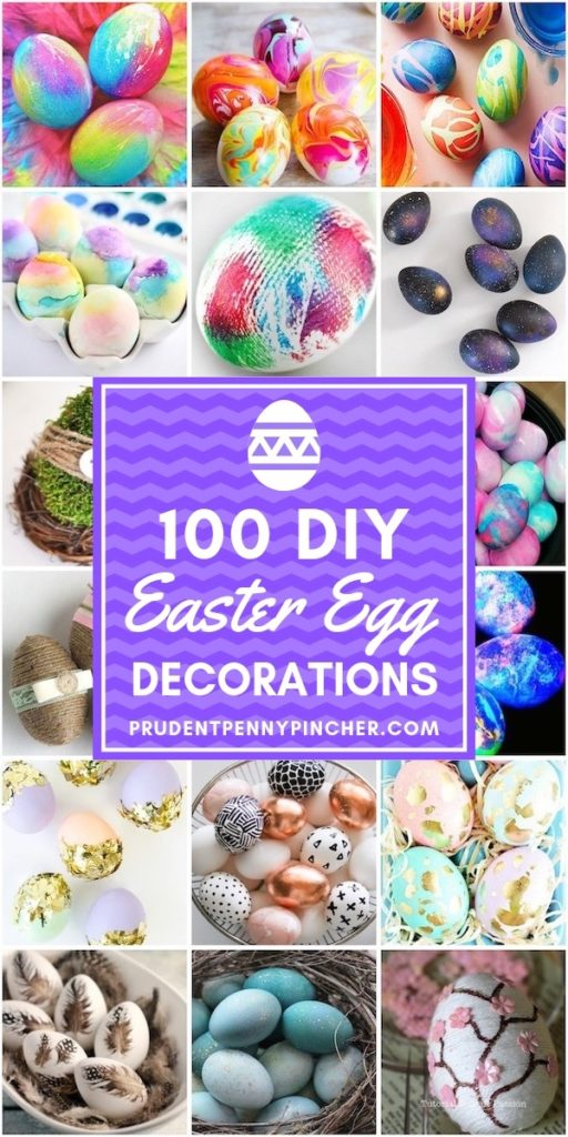 100 DIY Easter Egg Decorations
