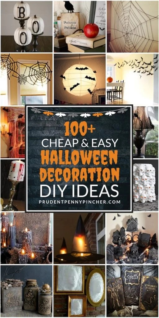 100 Cheap and Easy Halloween Decorations