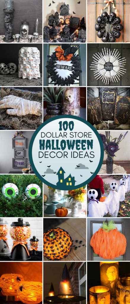 dollar store halloween decor diy ideas
