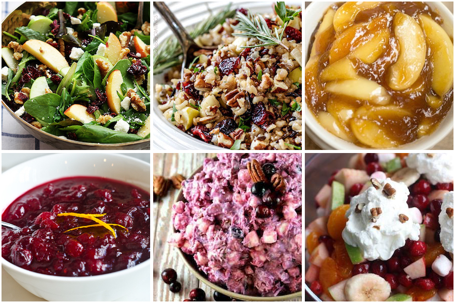 cranberry side dish recipes