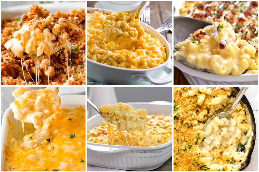 thanksgiving Mac and cheese recipes