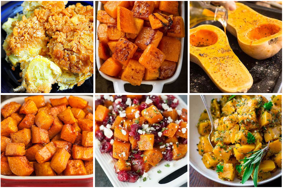 thanksgiving squash recipes