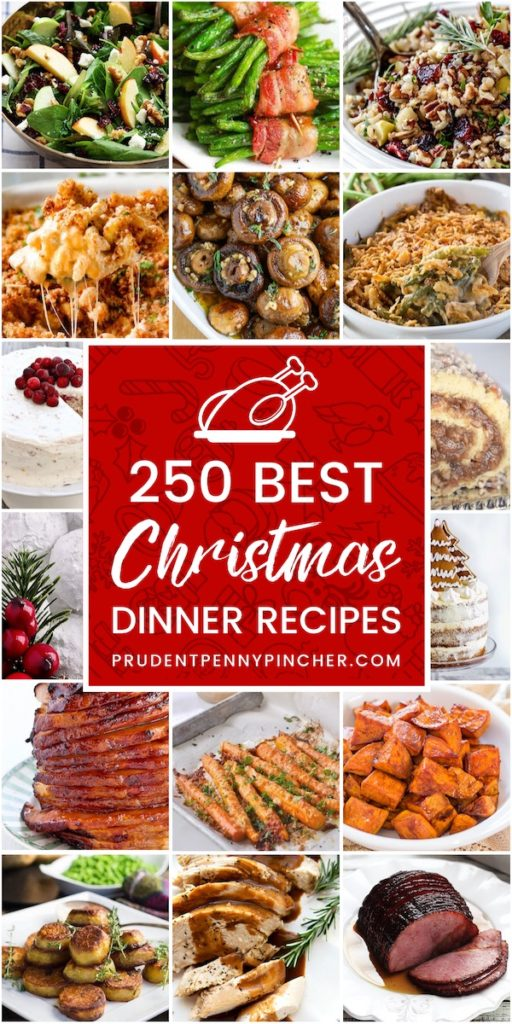 250 Best Christmas Dinner Recipes