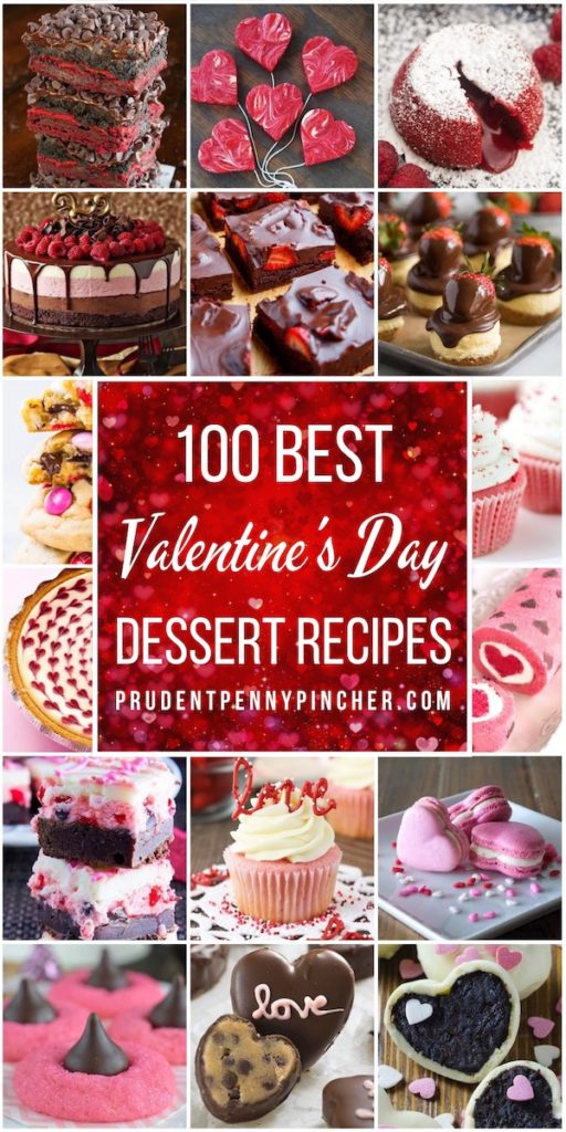 100 Best Valentine's Day Desserts