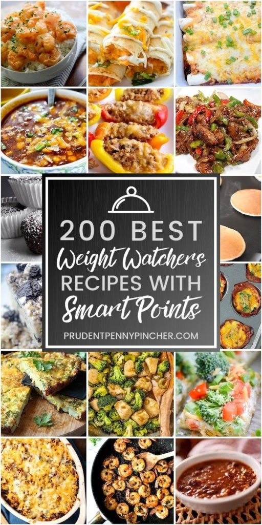 200 Best Weight Watchers Recipes with Smart Points