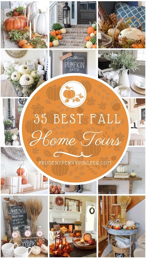 35 Best Fall Home Tours