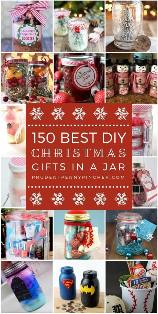 150 Best DIY Christmas Gifts in a Jar