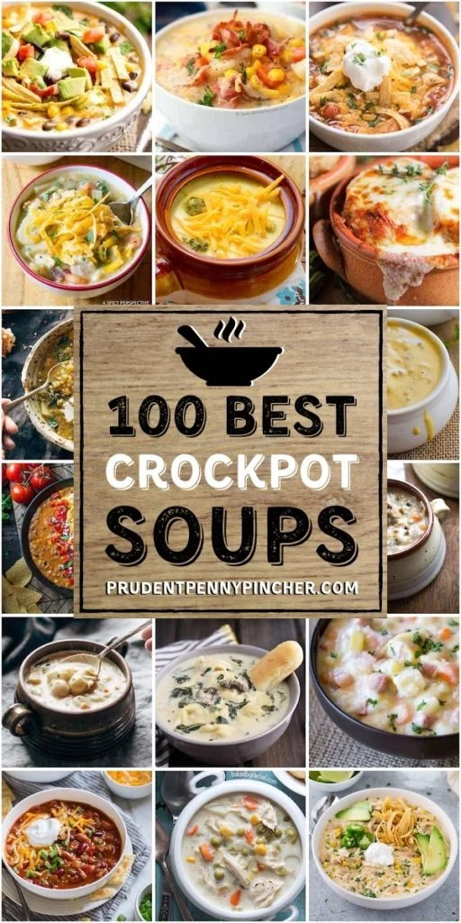 100 Best Crockpot Soup Recipes