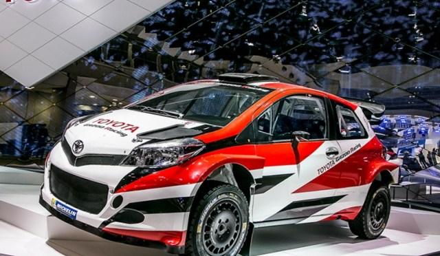 WRC | Toyota | Se presentó el Yaris WRC para el 2017