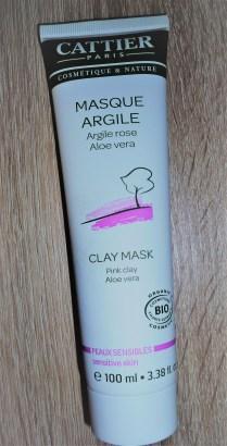 cattier masque argile rose