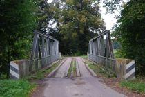 Brzeźnica/Birkenfeld (d. Kreis Gerdauen) 2013. Most nad Kanałem Mazurskim.