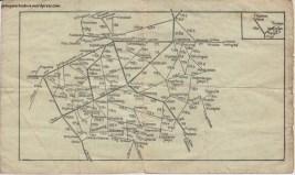 Kleiner amtlichen Taschenfahrplan für Ostpreussen. Gultig ab 1. April 1940. Deutsche Reichsbahn - Reichsbahndirektion Königsberg.