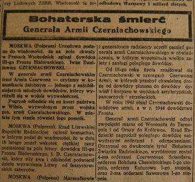 Rzeczpospolita nr 48 (wtorek), 20.02.1945.
