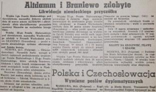 Rzeczpospolita nr 76 (środa), 21.03.1945.
