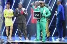 Cassper Nyovest accepts an award during the red carpet at the SAMA awards in Sun City. Picture CREDIT: Bafana Mahlangu