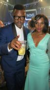 Comedian Tol Ass Mo and his wife Mome at the XXI South African Music Awards. Picture CREDIT: Kgothatso Madisa