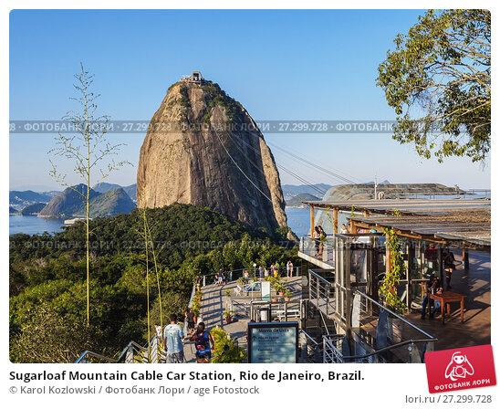 Sugarloaf Mountain Cable Car Station, Rio de Janeiro ...