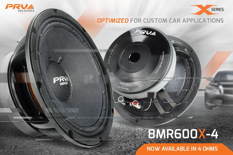 8MR600X-4 - Optimized for Car Audio