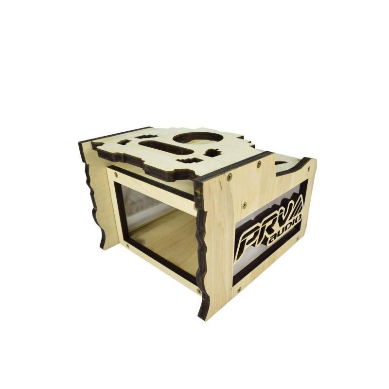 Radio-Box-2EQ-Acrylic---Front-Left-View
