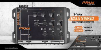 New Release: EX3.5 STEREO Electronic Crossover