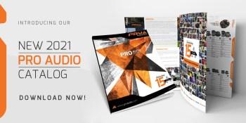 NEW 2021 PRO Audio Catalog!