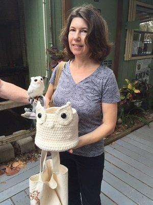 Michelle O'Connor made Luna a basket