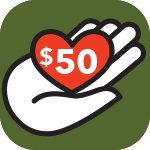 Support PRWC Donate Today 50 Dollars