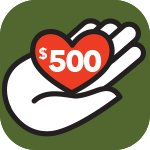 Support PRWC Donate Today 500 Hundred Dollars