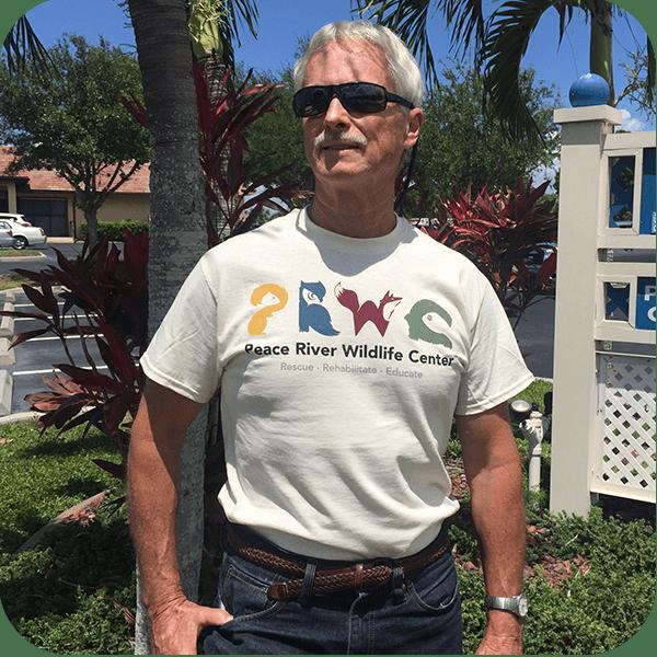 Unisex Adult Tan T-Shirt PRWC Color Logo