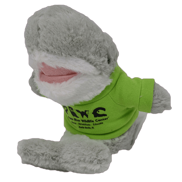 Branded Plush Animals Shark Transp