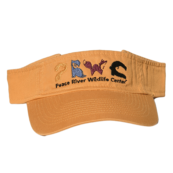 Sun Visor with Embroidered Logo Mustard