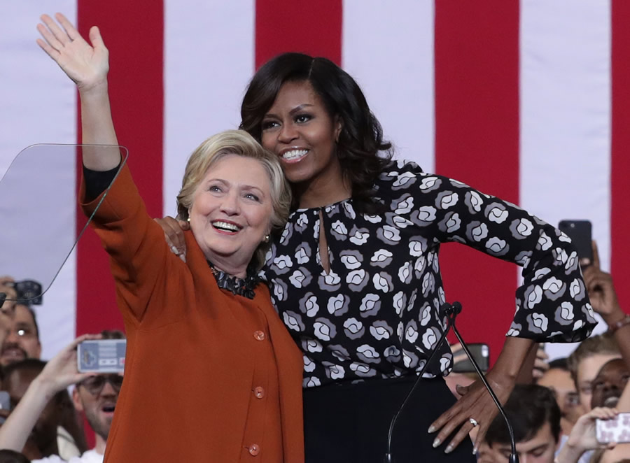 Clinton Campaign michelle-obama-hillary-clinton
