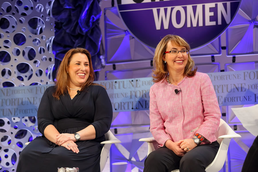 news-gun-violence-laguna-niguel-ca-usa-tuesday-oct-7th-2014-gabby-giffords-and-americans-for-responsible-solutions-co-founder-claudia-kelly-speak-at-fortune-most-powerful-women-conference