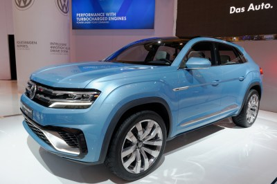 VW Emissions - Canadian International Auto Show VW Cross Coupe GTE is a combination of an SUV, a TDI Clean Diesel engine, two electric motors and five driving models