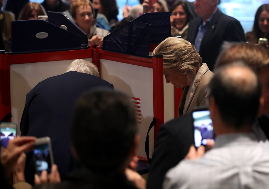 Election Day - hillary-clinton-casts-vote-on-election-day