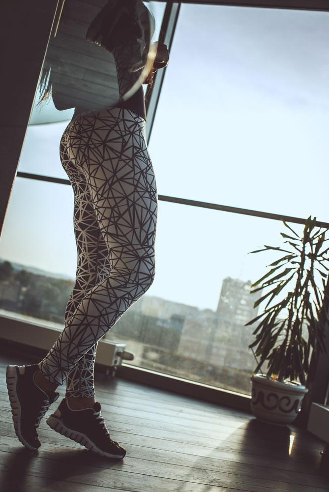 Yoga Pants -women-wearing-patterned-yoga-pants