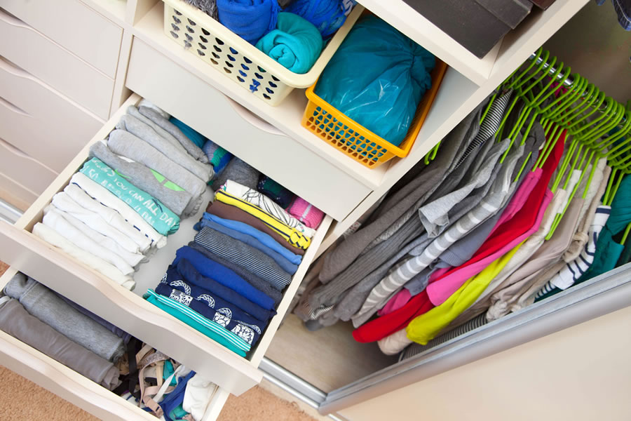 Organized Closet - closet-organized