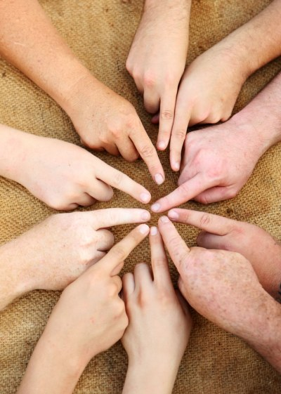 Too Nice - group-of-hands-with-fingers-pointed-at-each-other
