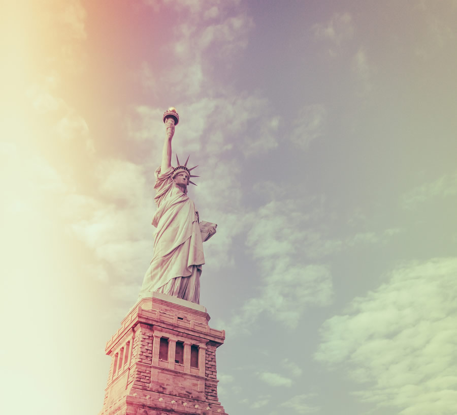 Safe - statue-of-liberty-vintage