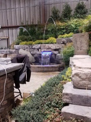 Waterfalls Display