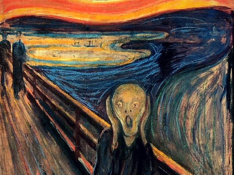 Edvard Munch - Krzyk